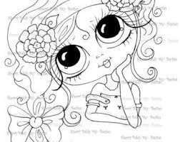 Small Picture 38 best face coloring images on Pinterest Big eyes Digi stamps