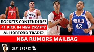 NBA Rumors Mailbag: Al Horford Trade ...