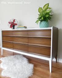 painted mid century furnitureMidCentury Modern Dressers Get Custom DIY Makeovers