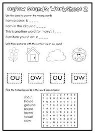 Kindergartners, teachers, and parents who. Digraph Activity Sheet Ou Ow Digraph Phonics Worksheets Learning Worksheets
