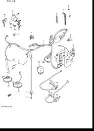 suzuki intruder wiring diagram suzuki wiring diagrams online