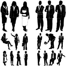 矢量人物剪影设计素材矢量图片图片id204740 其他人物 矢量素材 聚图