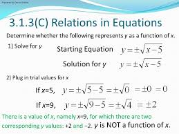 3 1 3 c relations in equations