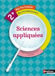 Sciences Appliquées 2e Bac Pro Cuisine Livre De Lélève