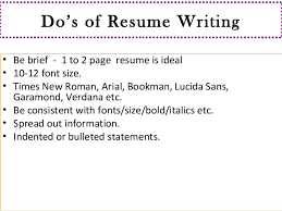 font size for a resumes. resume writting . font size for a resumes