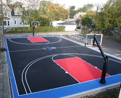 outdoor basketball court minimalist decor 15 on home gallery design ideas
