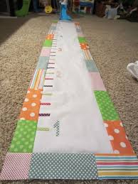 Fabric Growth Chart Tutorial 10 Easy And Cute Diy Children Growth Charts Kidsomania