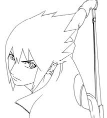 Chibito Coloring Pages For All Ages Hd Vs Sasuke Easy Shippuden