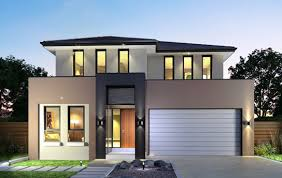 Modern Two Storey House Plans Deck MODERN HOUSE DESIGN  New Two Storey Modern House Designs