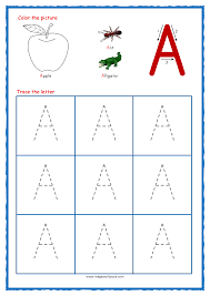tracing letters alphabet tracing