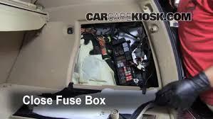 interior fuse box location 2006 2011 mercedes benz ml350 2007 W163 Custom at W163 Removing Fuse Box