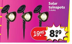 Solar Tuinspots Aanbieding Bij Kruidvat