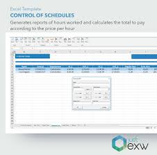 Hours Worked Excel Template Premium Template Control Of Timetable And Hours Worked Excel Template