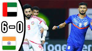 UAE VS INDIA, 6 - 0/ ALL GOALS AND EXTENDED HIGHLIGHTS/ INTERNATIONAL  FRIENDLY MATCH - YouTube