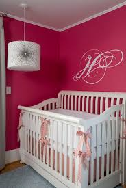 pink girl nursery paint colors adorable nursery furniture white accents