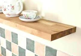 thick wood wall shelves thick wood shelves extra deep solid oak floating shelf thick wooden kitchen thick wood wall shelves