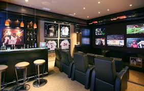 home office man cave. sportcornermancavedecor home office man cave 0