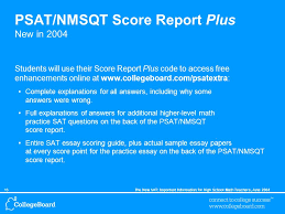 the new sat ® important information for high school math teachers  16the new sat important information for high school math teachers 2004 psat