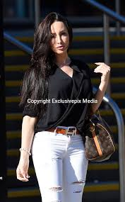 Laura Summers in Manchester as she attend Fashion Show | Nick york