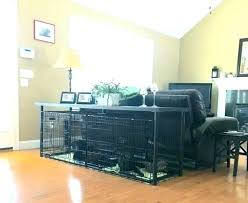 dog kennel kitchen island coffee table rooms to go kids crate diy full size