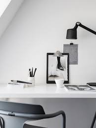 home office simple. Simple Scandinavian Home Office. Styling By Pela Hedeby, Photographer Sara Medina Lind For Lenca Office R