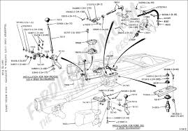 ford truck technical drawings and schematics section g transfer case shift control and supports four wheel drive 1967 1972 f250