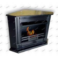 ethanol corner fireplace chimney corner color black for cute black corner fireplace