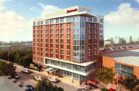 artist s rendering of the ithaca marriott from urgo hotels site proposal courtesy of city of