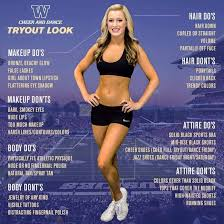the university of washington s guidance on how to look for cheerleader tryouts