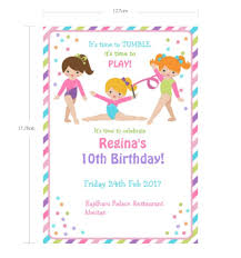 B Day Invitation Cards Us 23 0 5x7
