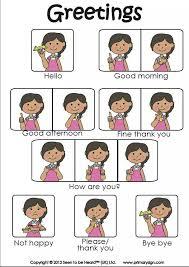 Greetings Signs Sign Language Asl Sign Language British