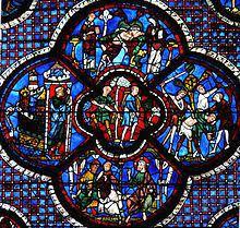 Vitrales de la catedral de Chartres | Vidrieras goticas, Vitrales, Vidrio  de color
