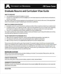 Engineering Graduate Fresher Resume Guide Template