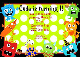 Lil Monster Birthday Invitations Beautiful Little Monster Birthday Invitations Or Boys Googly Eyed