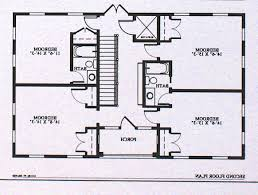 Home Design House Plans Two Master Suites e Story High