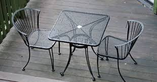wrought iron patio chair costco