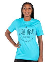 Unisex Shirt Size Chart Color Run Unisex St Jude Memphis Marathon Run T Shirt