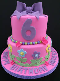 Birthday Cake Ideas For Girls Birthday Cake For A 6 Year Old Girl
