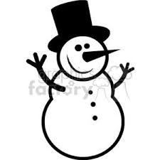 Look at links below to get more options for getting and using clip art. Black And White Happy Snowman Clipart Commercial Use Gif Jpg Png Eps Svg Pdf Clipart 379870 Graphics Factory