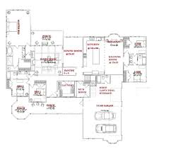 Square Kitchen Floor Plans One Story 5 Bedroom House Plans On Any Websites