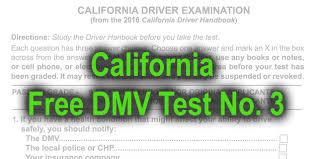 dmv test 2015. Fine Dmv California Free DMV Test No 3 To Dmv 2015 S