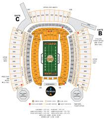 44 Explicit Pittsburgh Steelers Seating View