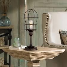 industrial inspired lighting. Industrial Lamp On Table Inspired Lighting