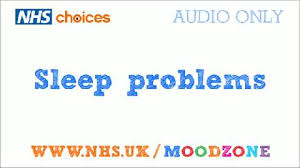 sleep problems and trouble sleeping live well choices