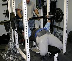 Elastic Bands For Weight LiftingChains Bench Press