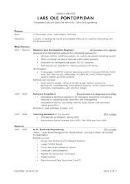 Resume Outline Examples Resume Templates For Internships Resume