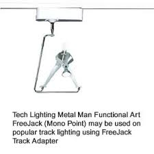 track lighting for art. tech lighting metal man for track whimsical art fixture of a holding positionable lowvoltage mr16 lamp up to 75 watts