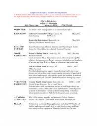 Nurses Resumes Nurses Resume Sample Student Nurse Examples Resumes Nursing School 14
