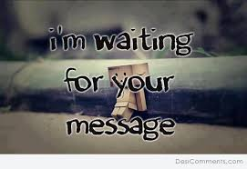 waiting sms for someone special