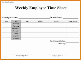 Employee Time Sheets Excel Paper Time Sheets Omfar Mcpgroup Co